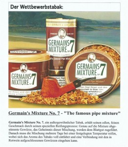 Planta WM Tabak- Germains Mixture No. 7